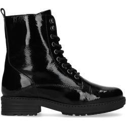 Black Paint Ankle Boots (36,37,38,39,40,41,42