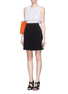 021926589e ALEXANDER MCQUEEN Large pocket sleeveless layer top | The New ...