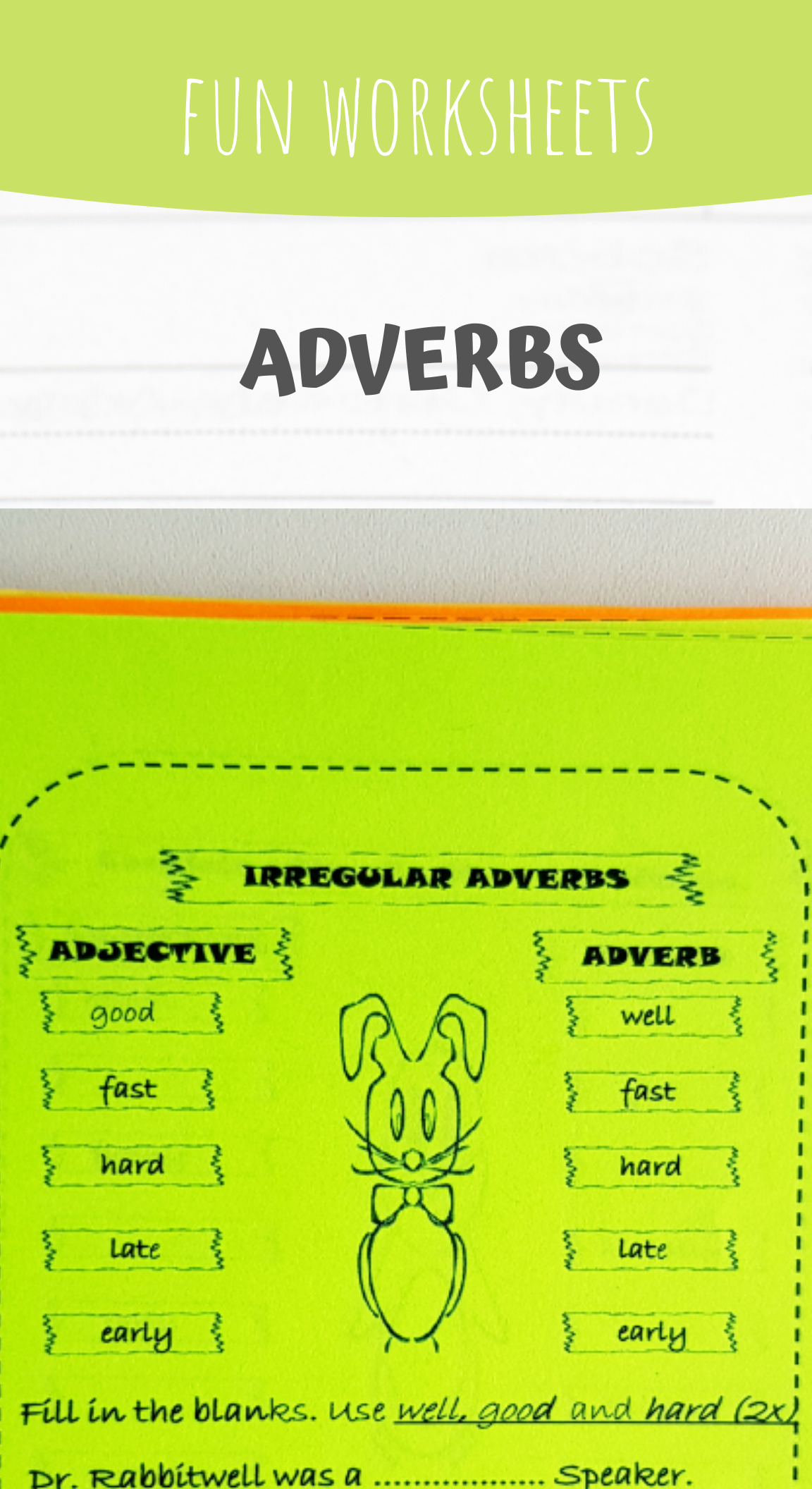 Adverbs And Adjectives In