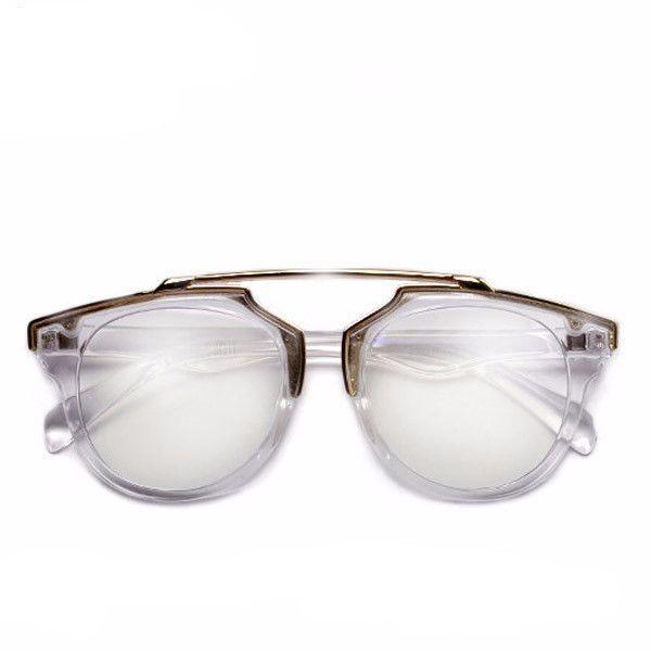 Plastic Bridge Eye Sunglasses