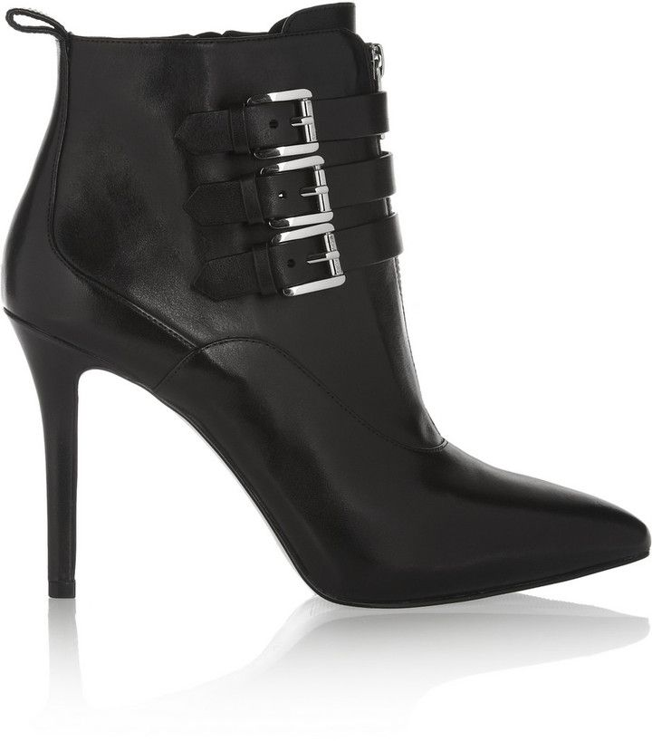 8e6eee70c8d7 MICHAEL Michael Kors Brena leather ankle boots on shopstyle.com.au ...