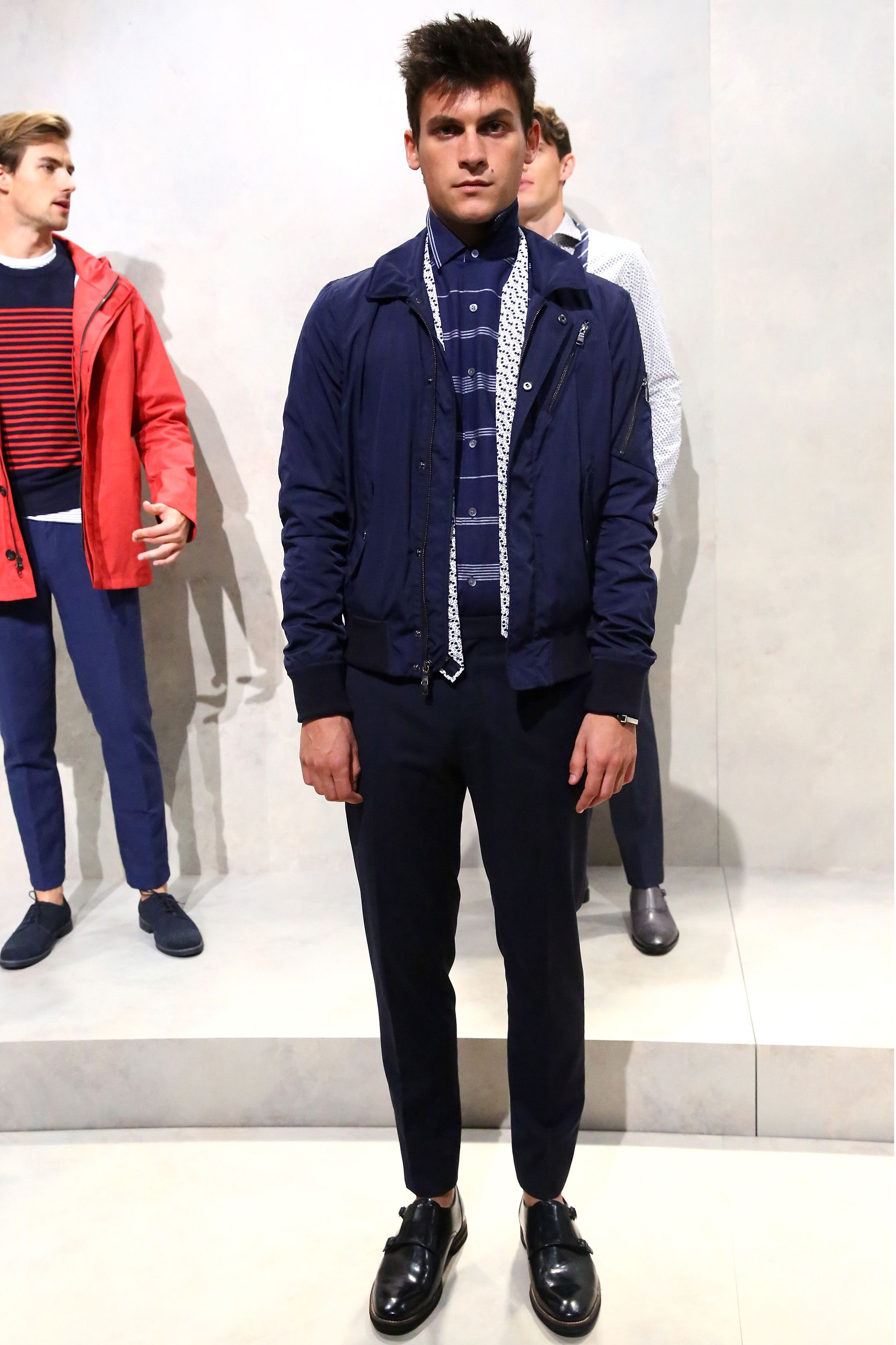 The Banana Republic SS16 Presentation