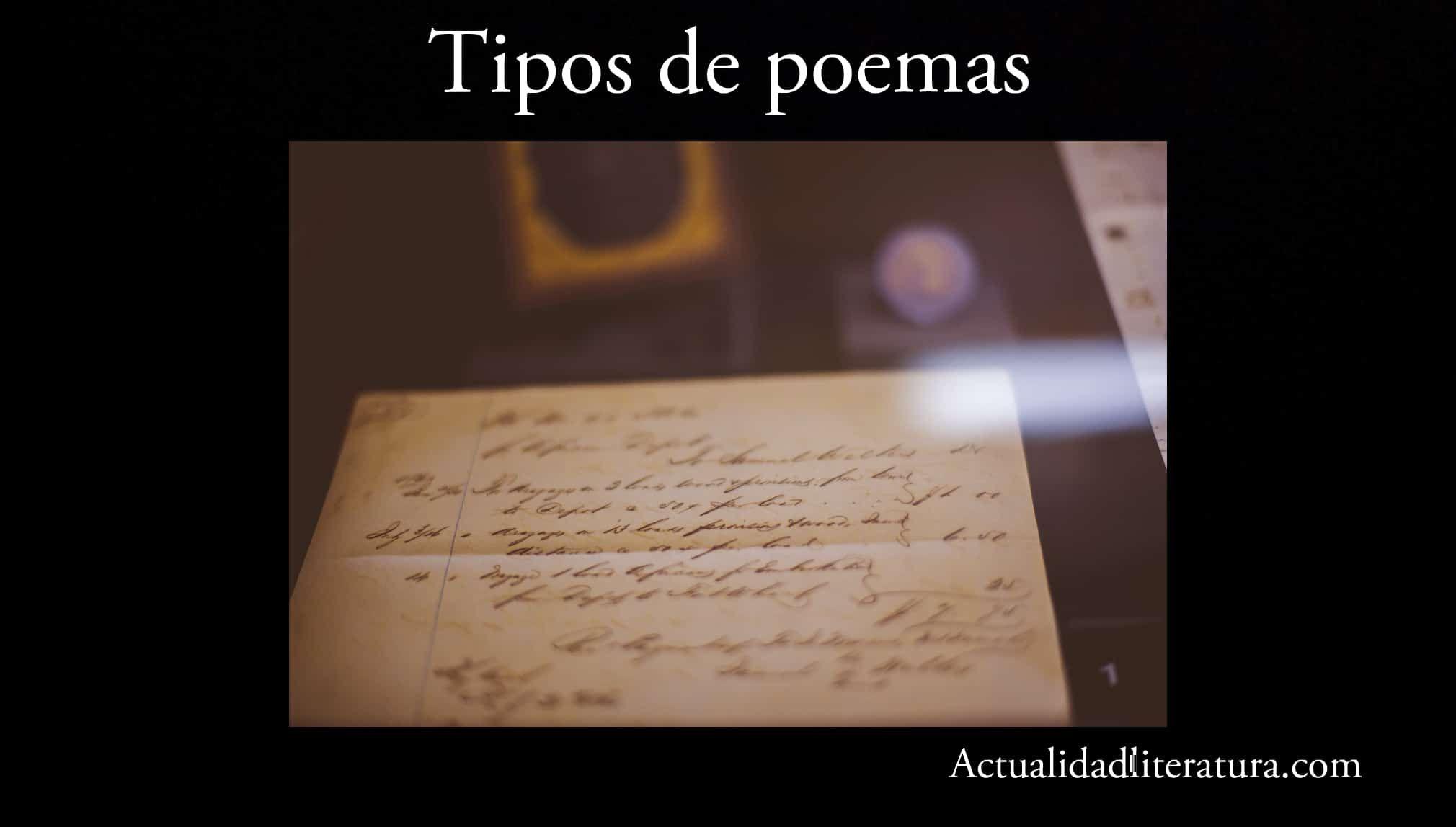 Tipos De Poemas Todo Lo Que Debes Saber Sobre Ellos Poemas Caracteristicas Del Poema Poemas Cortos