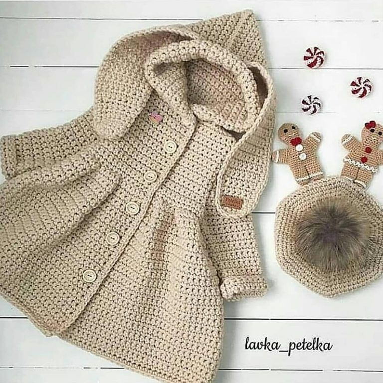 Simple and Cute Baby Cardigan Free Pattern Images for 2019