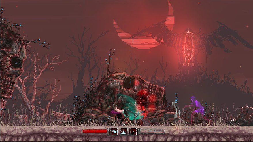 awesome Heavy metal platformer Slain! has been delayed