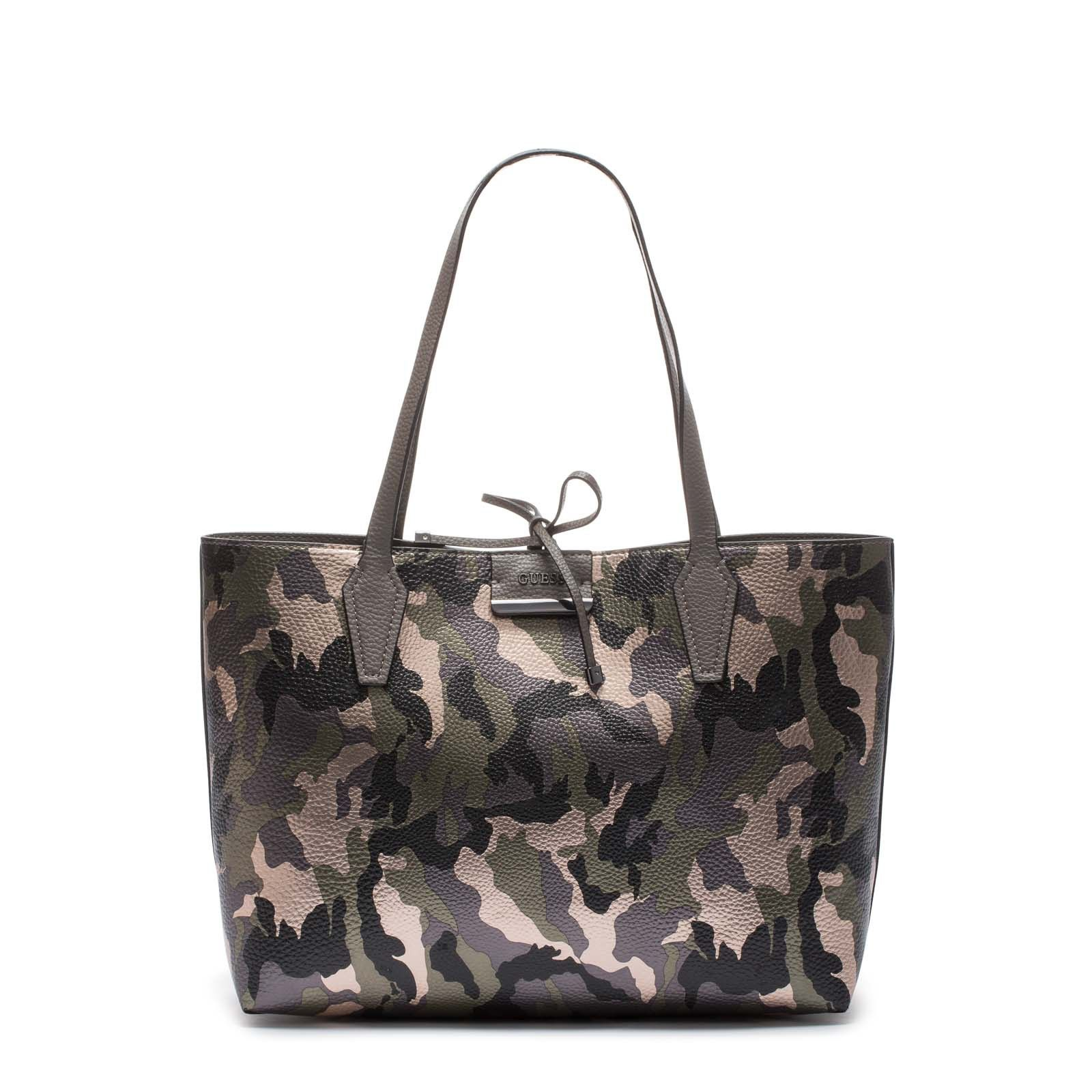 58f71d48cd GUESS Bobbi Inside Out Camo Grey Schoudertas HWMC64-22150-CAG ...
