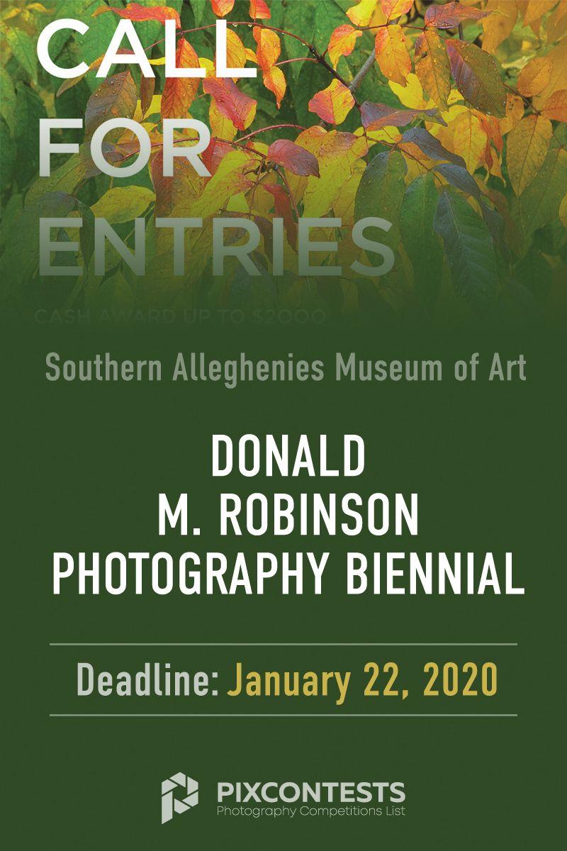 Donald M Robinson Photography Biennial 2020 Southern