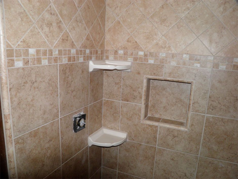 Custom Bathroom Tile Installation Bathroom Remodel Grout Restoration Custom Cabinets H H Construction