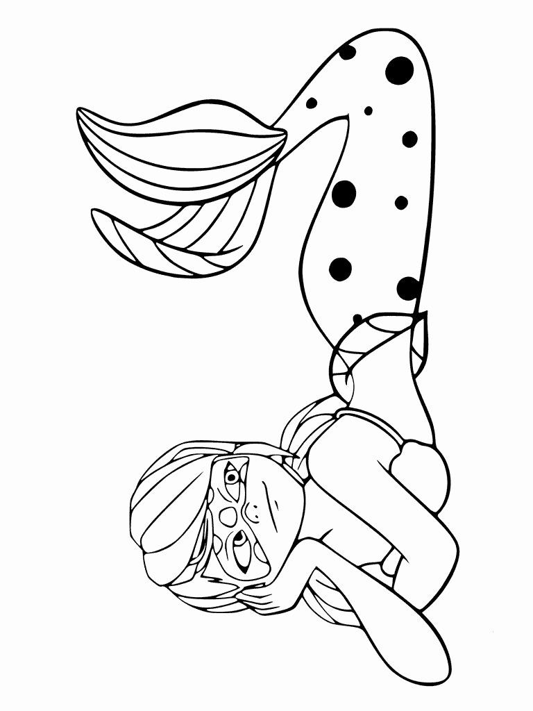 Miraculous Ladybug Coloring Page Elegant Free Printable Miraculous Ladybug And Cat Noir Coloring Pages In 2020 Ladybug Coloring Page Mermaid Coloring Coloring Pages