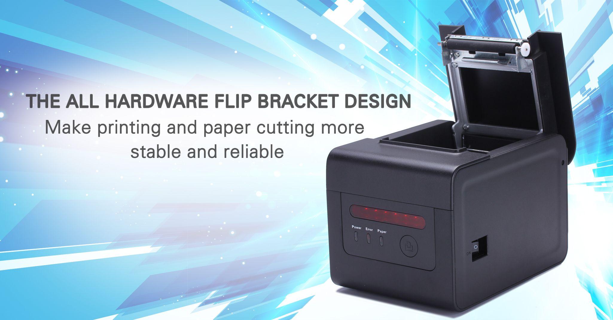 Epson kitchen printer  mm Receipt Printer  MMS of high speed printing excellent