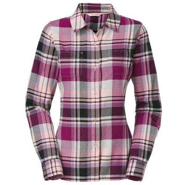 Purple plaid shirt - The North Face Women's 'Pomeria' Plaid Flannel Shirt ($57