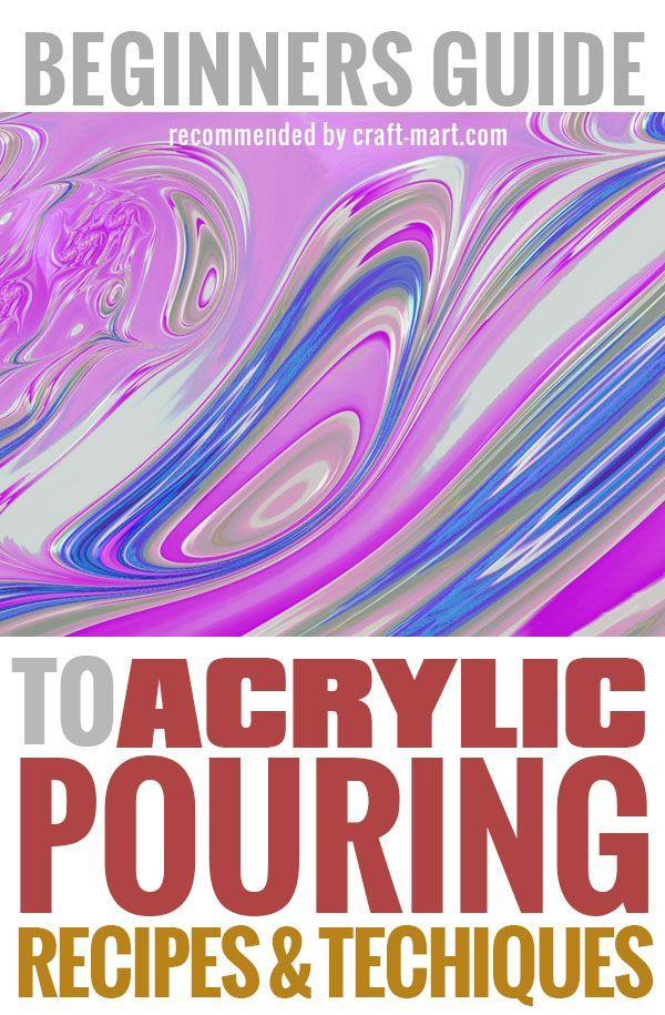Learn cool acrylic pouring medium techniques from the best fluid artists around