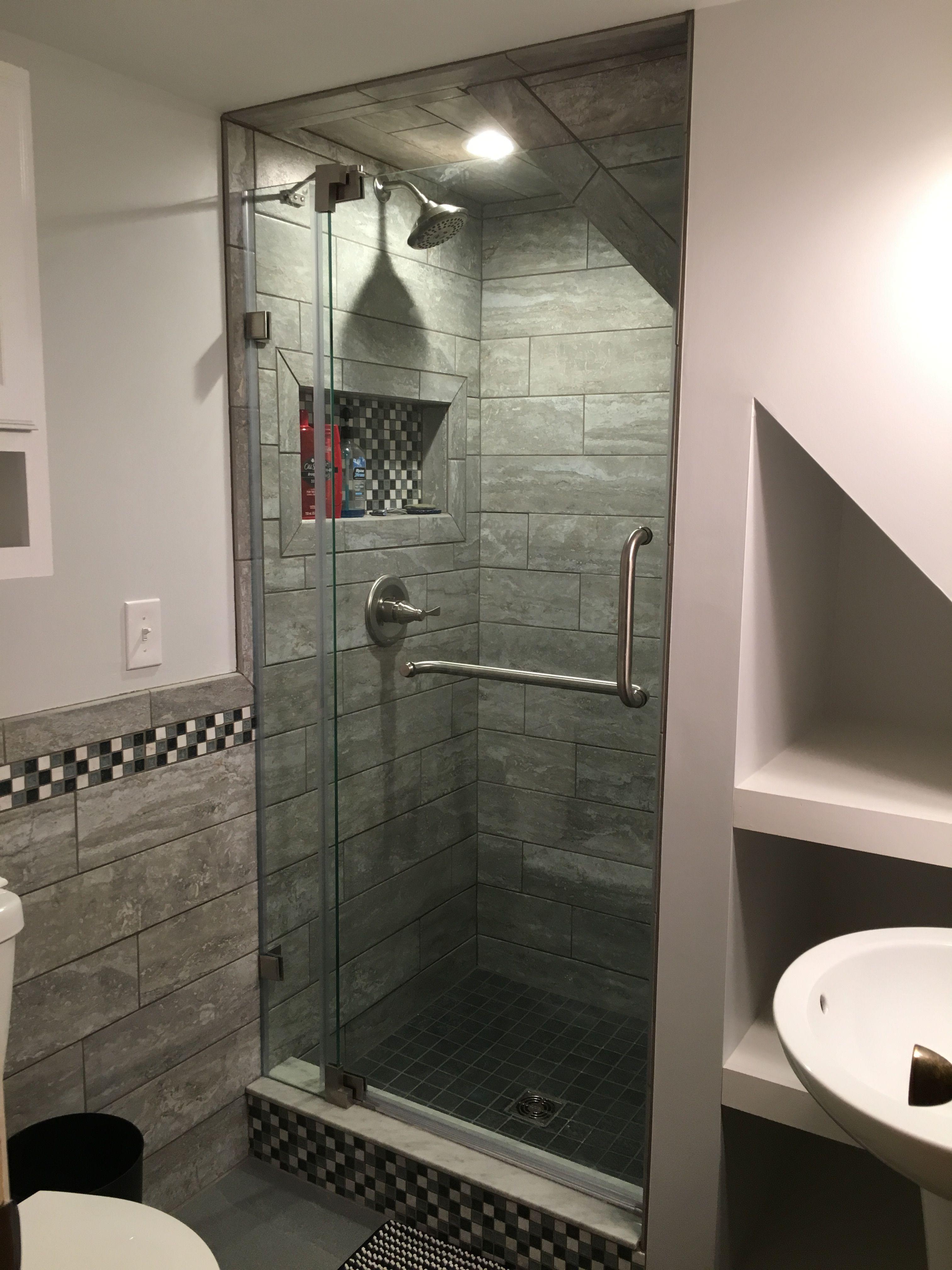 Under The Stairs Shower Cheap Bathroom Remodel Bathroom Under