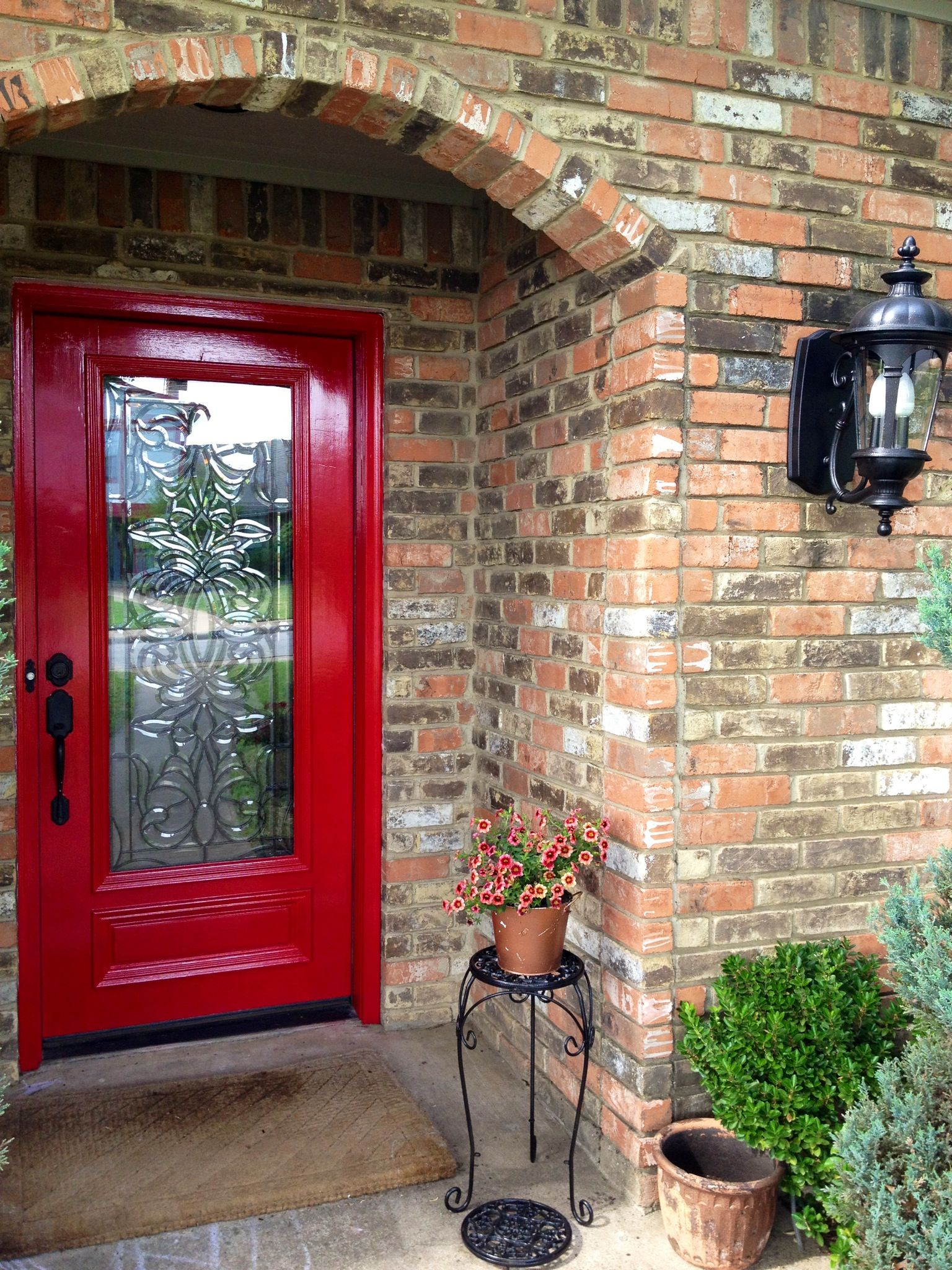 Glidden Trim Door Paint In Cherry Red Super Easy To Use Super