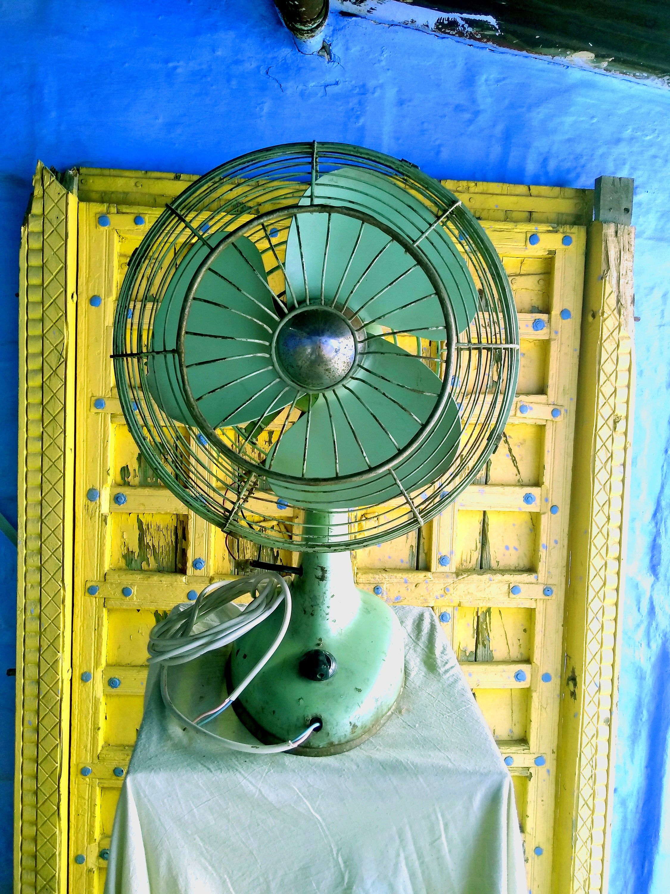 Indian vintage electric table fandesk fan for home decor