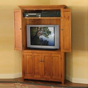 Cute Corner Tv Cabinet With Doors Plans Free