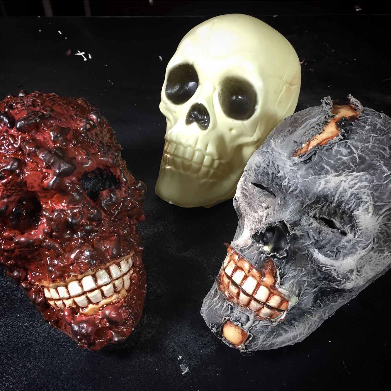 How To Corpse Those Cheap Dollar Store Skulls. Www