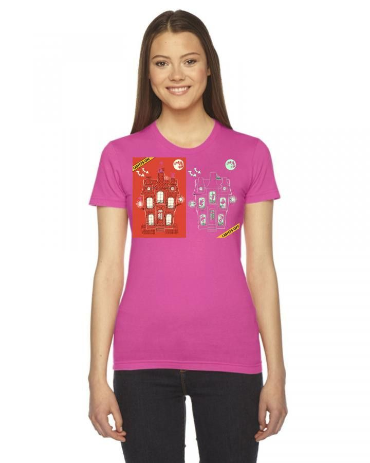 13th gloom street Ladies Fitted T-Shirt