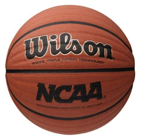 "Wilson NCAA Wave Microfiber Composite Basketball, 29,5 - Inch, Orange by Wilson. $38.04. The Revolutionary Patent Pending ""WAVE TECHOLOGY"" is designed to maximize player performance. The 24 precision recessed grooves in the surface of the ball creates leverage points that increase ball control. The increase ball control enhances players abi"