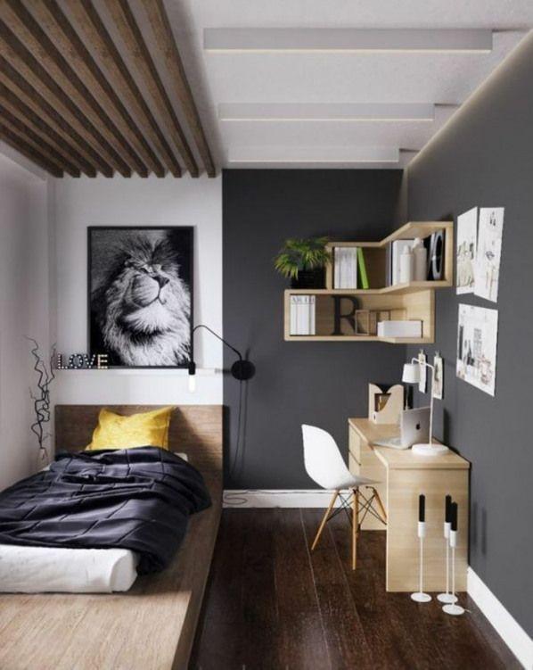 Chambre 9m2 am nagement s chambre minimaliste deco - Idees amenagement petite chambre 9m2 sos ...