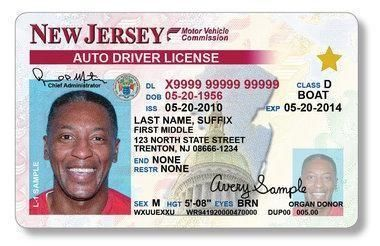 Novelty New 2019 Driver's Test Photo License Enhanced In License Jersey Dmv Drivers Exam