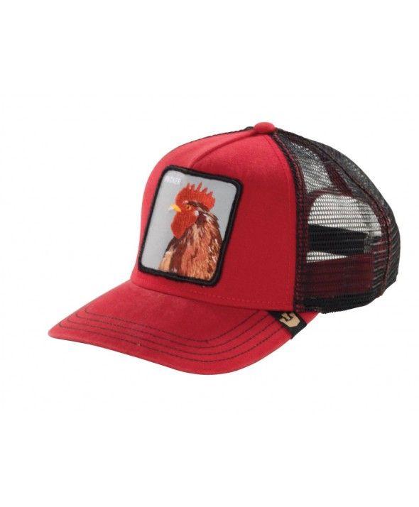 6fb92e683598f Goorin Bros. Plucker Trucker cap Red