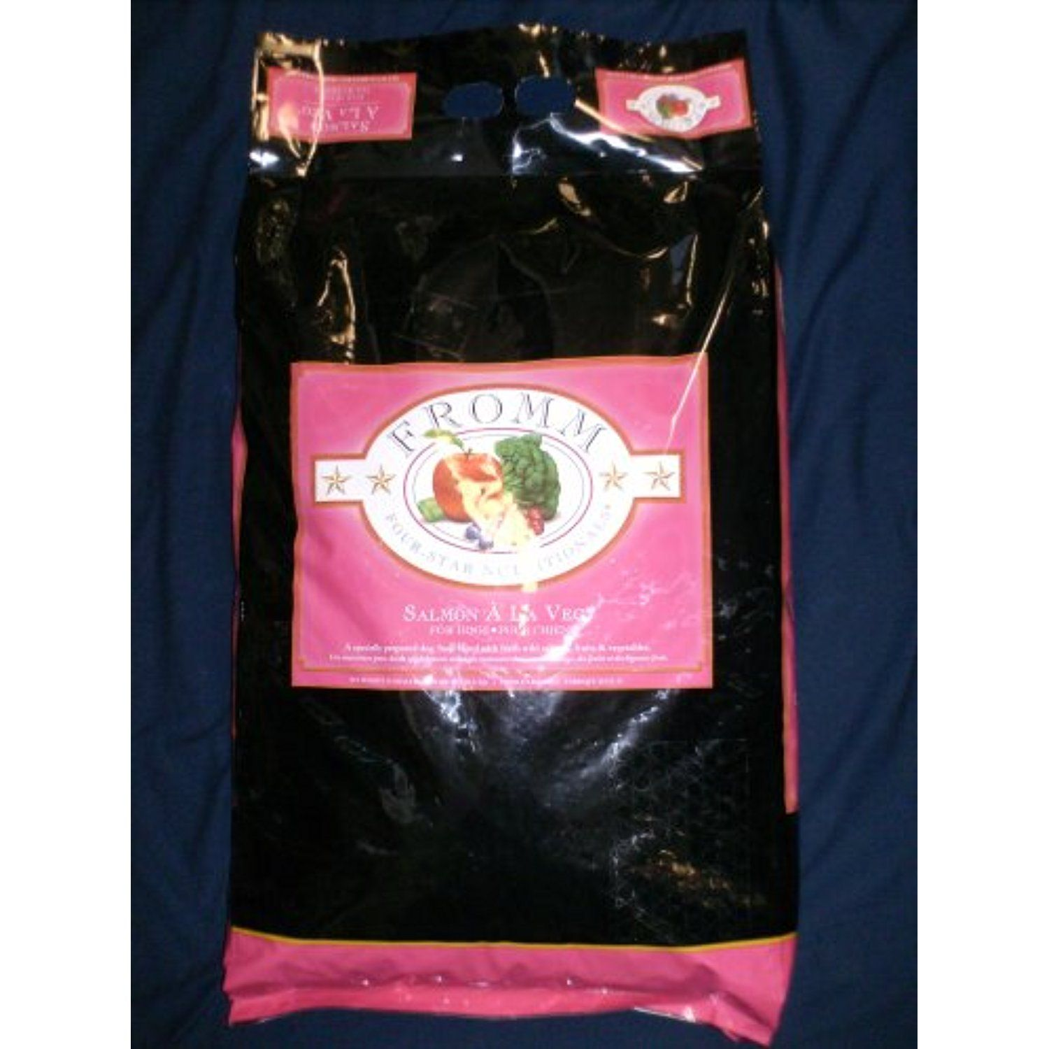 Fromm Four Star Salmon A La Veg Dog Food 15 Lb You Can