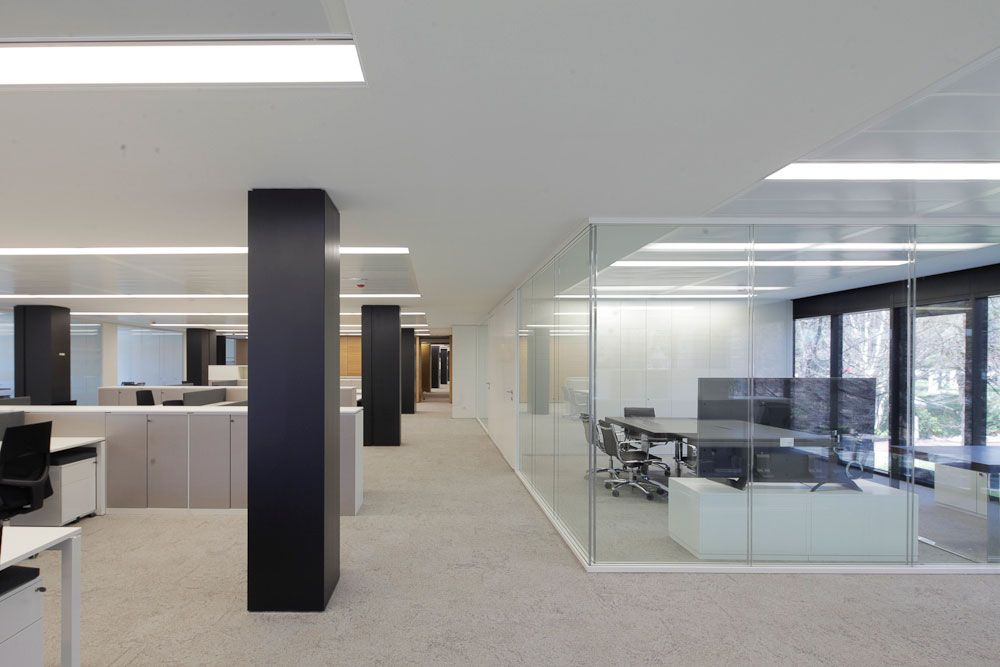 Silentbox la mampara de vidrio con aislamiento ac stico for Aislamiento acustico vidrio