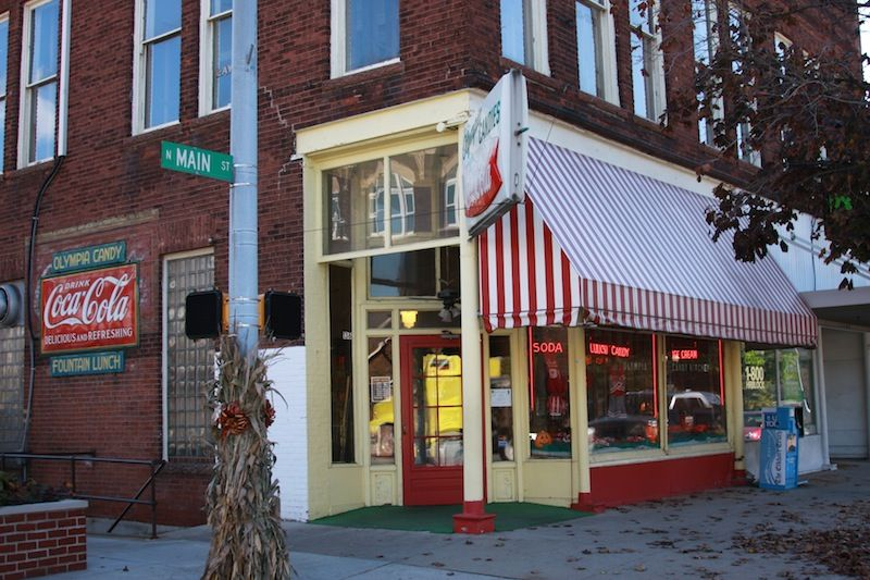This Week American Road Visits Olympia Candy Kitchen In Goshen Indiana American Road Trip