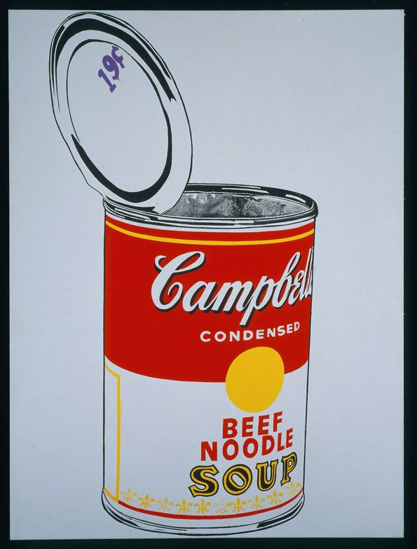 Regarding Warhlol Any Warhol S Campbell S Soup Can At The Metropolitan Museum Of Art In Nyc Art Andy Warhol Warhol Campbell S Soup Cans