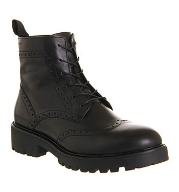 Ankle Boots Black Kenova Boot Leather Brogue Vagabond q74B67