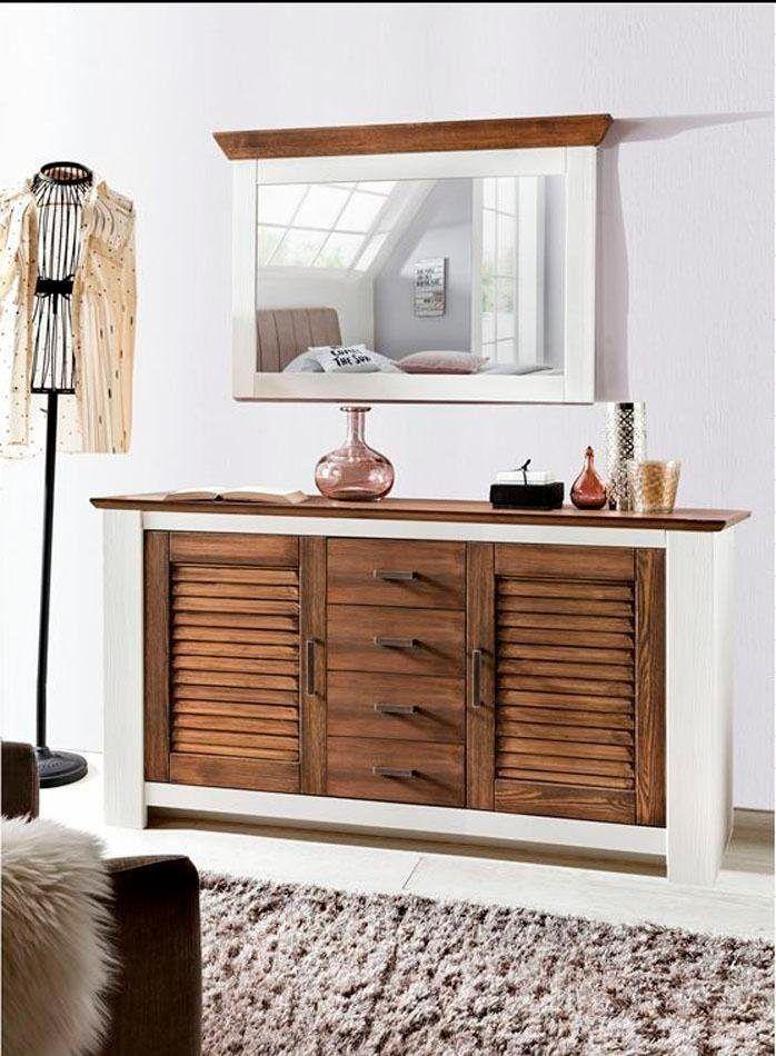 Home affaire Sideboard »Laguna« weiß, Soft-Close-Funktion, FSC - sideboard für wohnzimmer