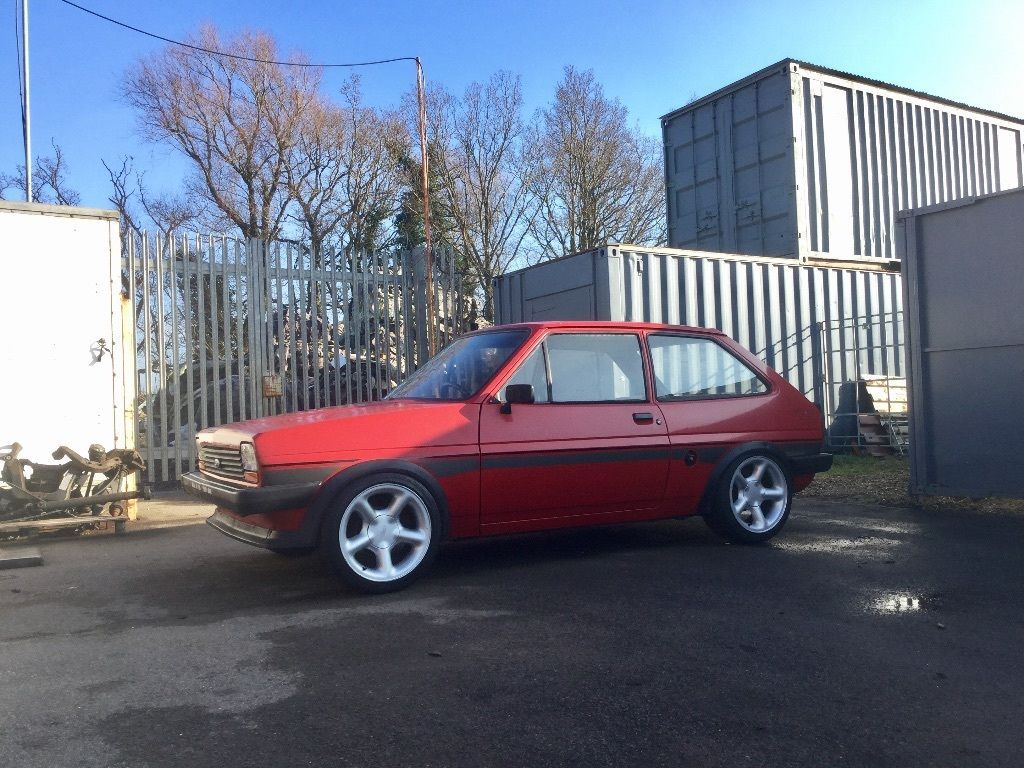 1982 ford fiesta cosworth sleeper project see ebay listing