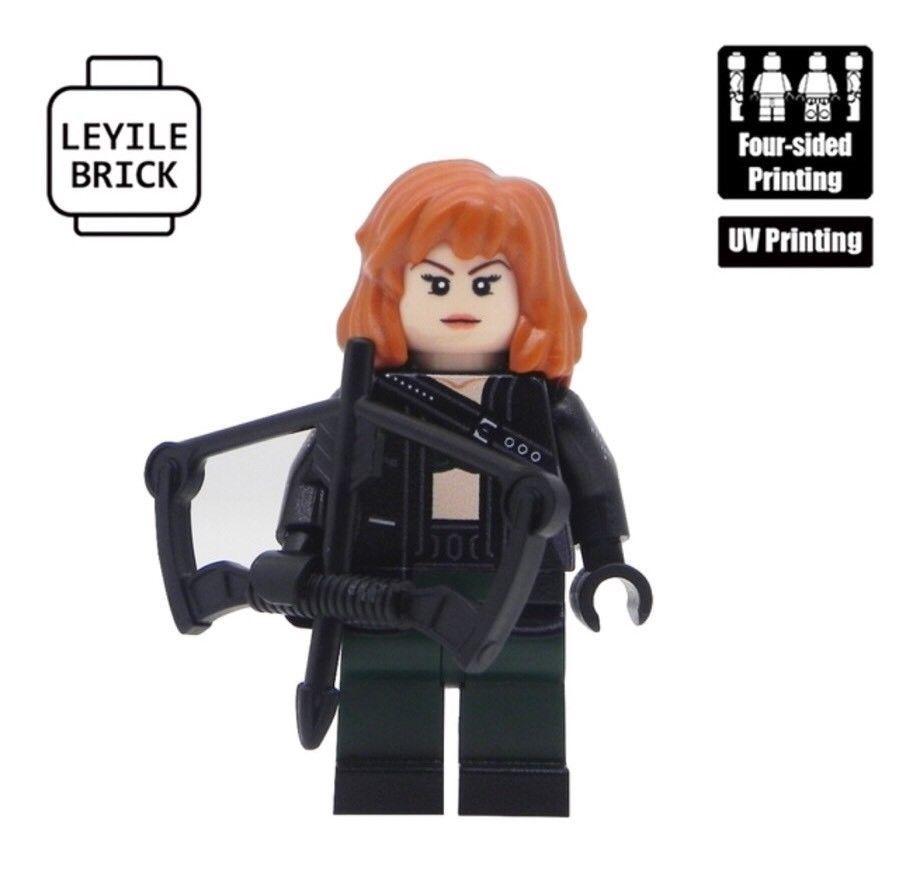 ⎡LEYILE BRICK⎦Custom Reader Lego Minifigure