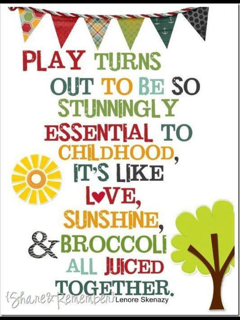 This would be cute in the toy room! | Preschool quotes, Play ...