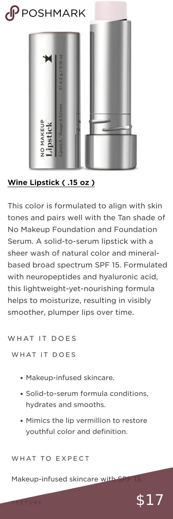 Perricone MD No Makeup Lipstick SPF 15 WINE in 2020