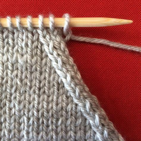 En tricot, il vous faudra parfois réduire le nombre de mailles présentes …   – Örgü