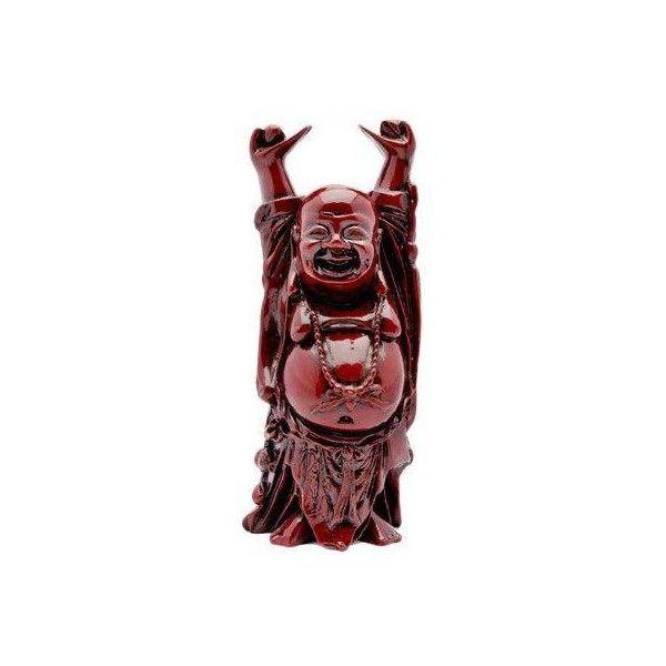 "10"" Happy Buddha Statue ($36) found on Polyvore"
