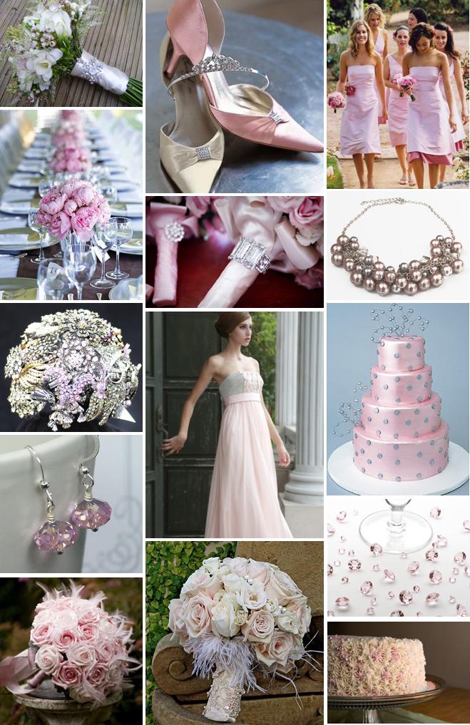 Baby Pink Silver Wedding Theme Wedding Themes Pinterest Pink