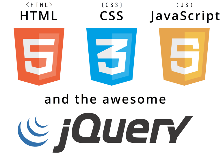 Infographic Overview About Coding Html Css Javascript And The Awesome Jquery Javascript Html Css Jquery