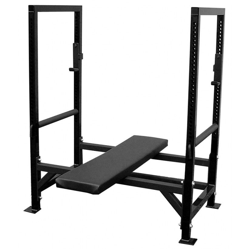 Elitefts Bench Power Bench Rack 2x2 Bench Home Gym Home