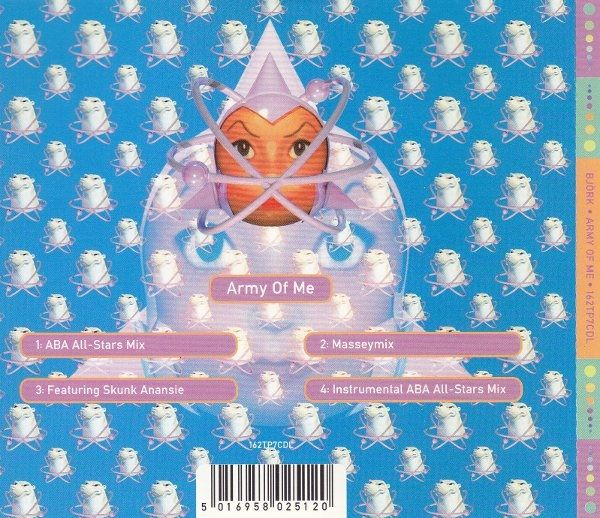 Björk - Army Of Me (CD) at Discogs