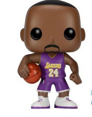 3e5b03be3 10cm Funko POP Kobe Bryant LeBron James Stephen Curry NBA Figure 2k Los  Angeles Lakers Cleveland Golden State Warriors