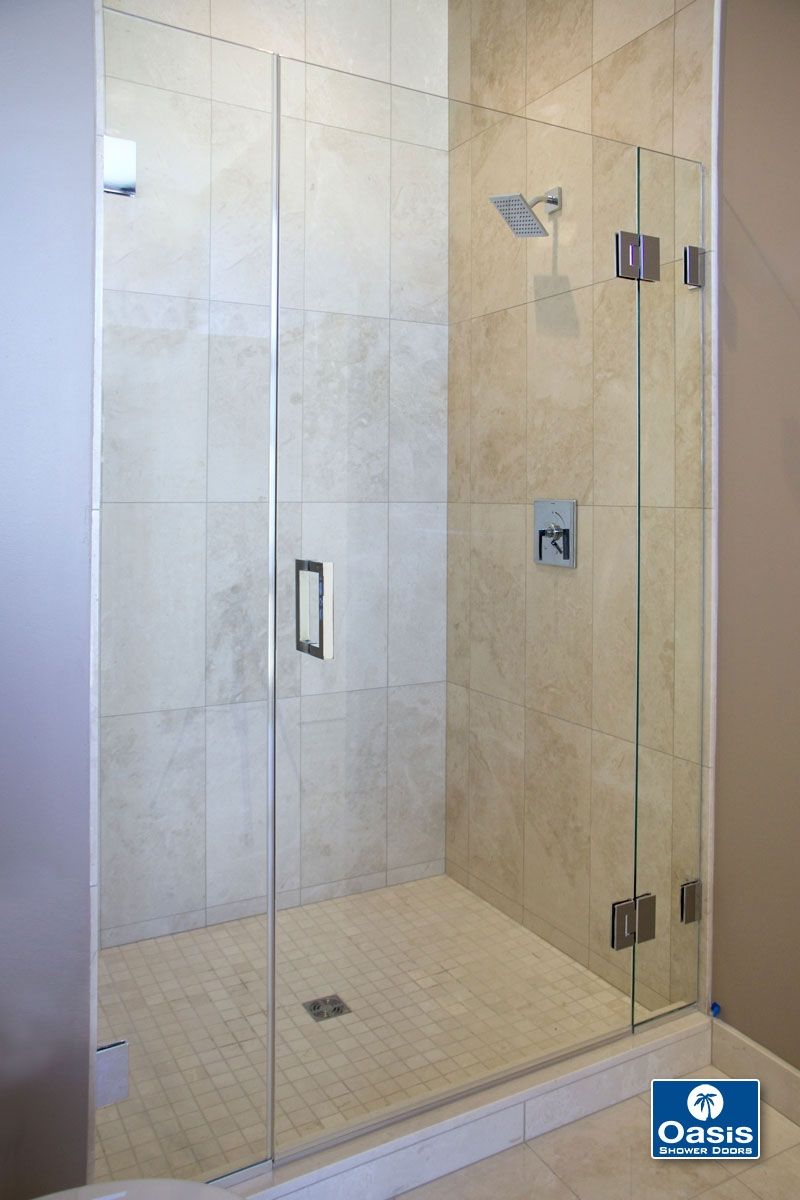 Glass Shower Doors Frameless With Images Glass Shower Doors
