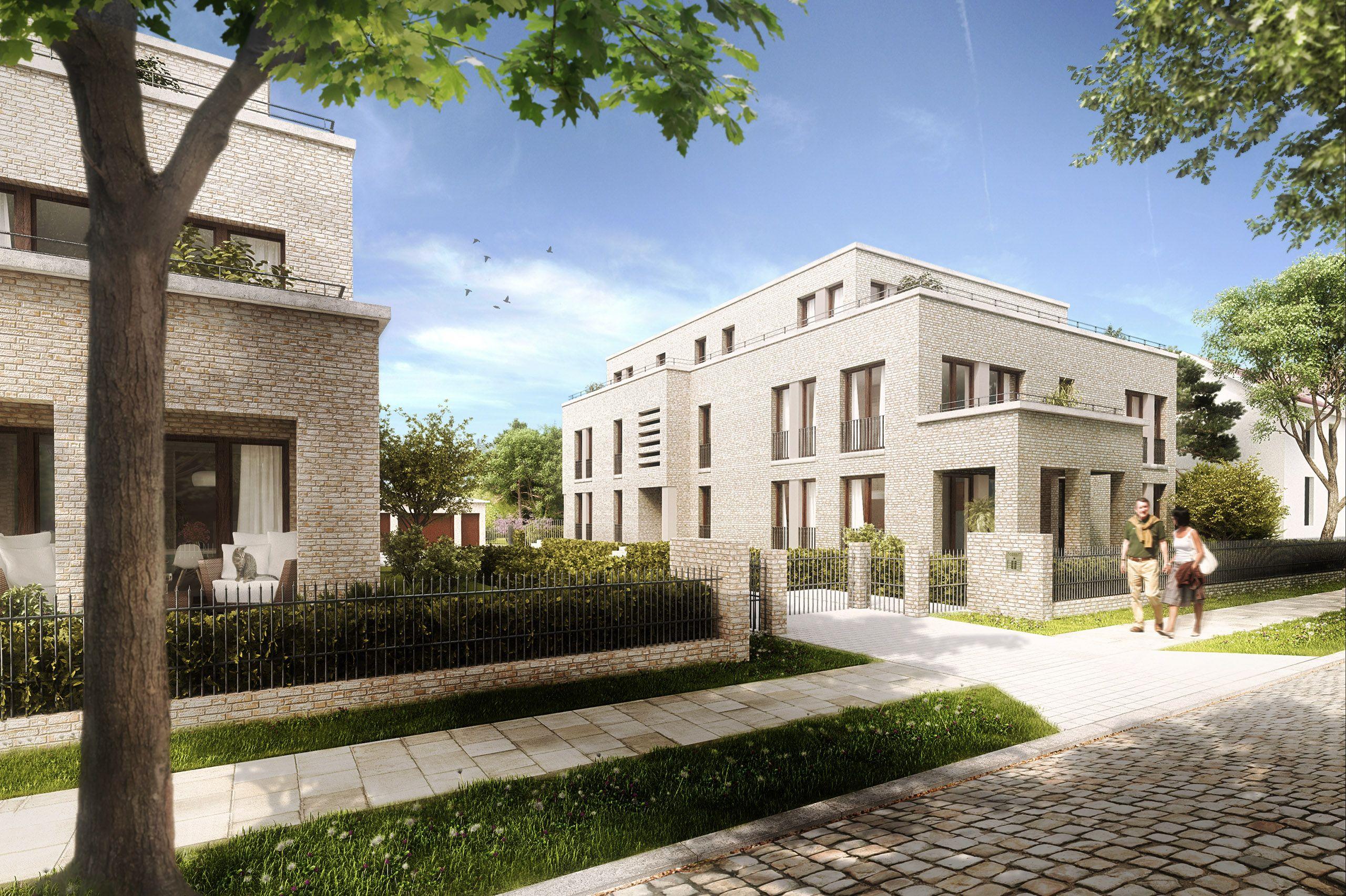 3d Architekturvisualisierung potsdam petershagener straße residential render manufaktur