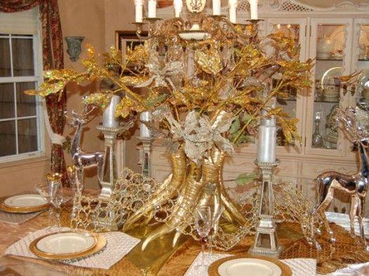 Elegant Christmas Table Decorations Luxury Gold Christmas Dinner T Christmas Decorations Dinner Table Christmas Table Decorations Thanksgiving Table Settings