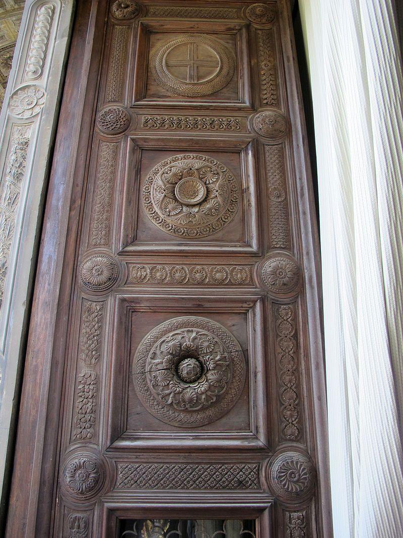 Cappella dei Pazzi, Firenze - porte lignee