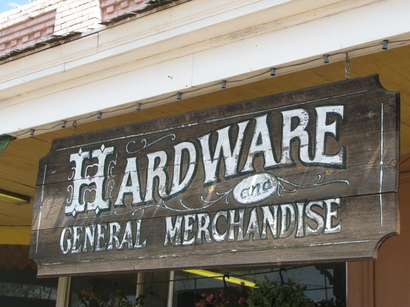 Vintage Hardware Store Signs Google Search Ideas For