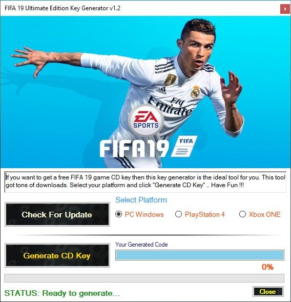 free download fifa 17 key generator