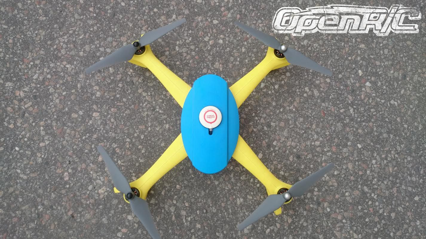 Daniel Norée's OpenRC 3D Printed Quadcopter is a Treat for Your Eyes http://3dprint.com/61174/openrc-quadcopter/